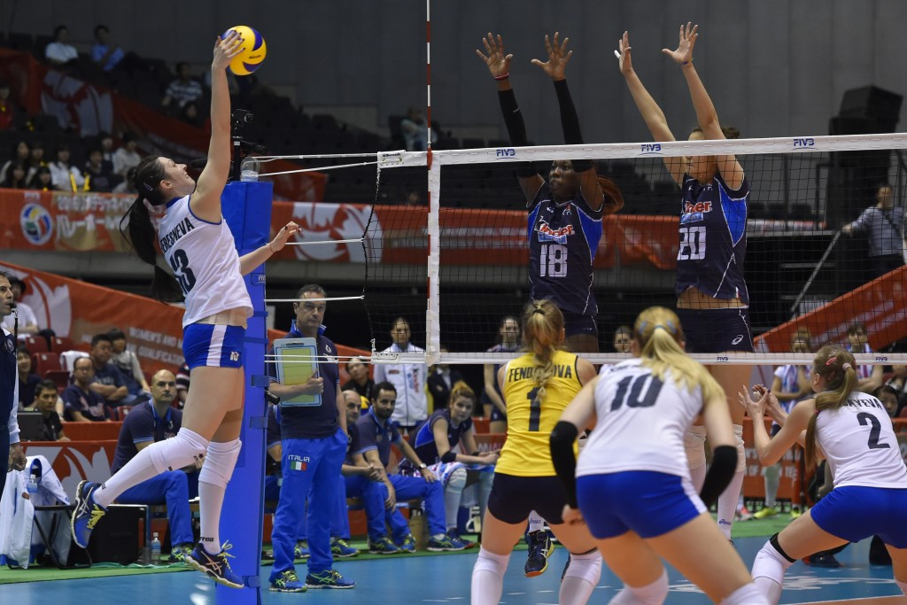 Italy top the pile as FIVB Rio qualifier ends in Tokyo