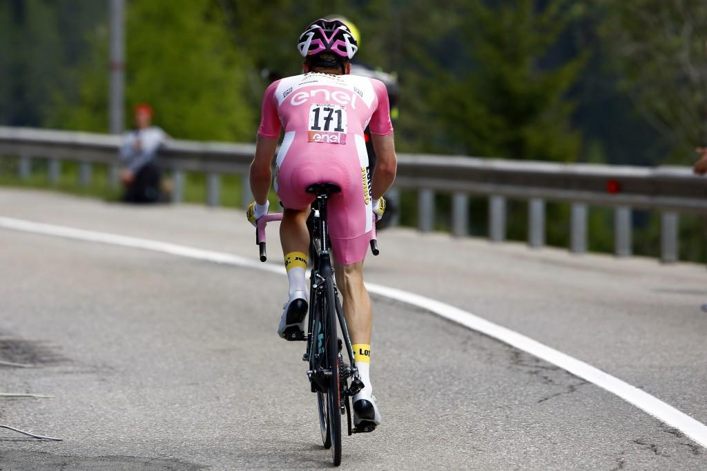 Kruijswijk takes huge step towards Giro d'Italia victory as Foliforov wins mountain time trial