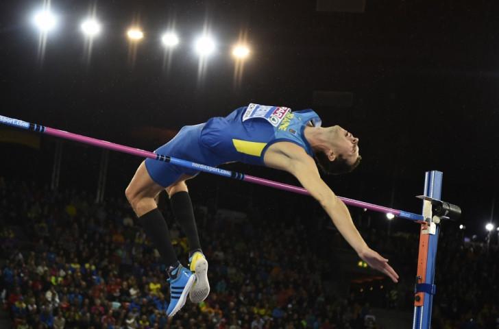 Ukrainian high jumper Bogdan Bondarenko is another star athlete set to compete on the streets of Baku