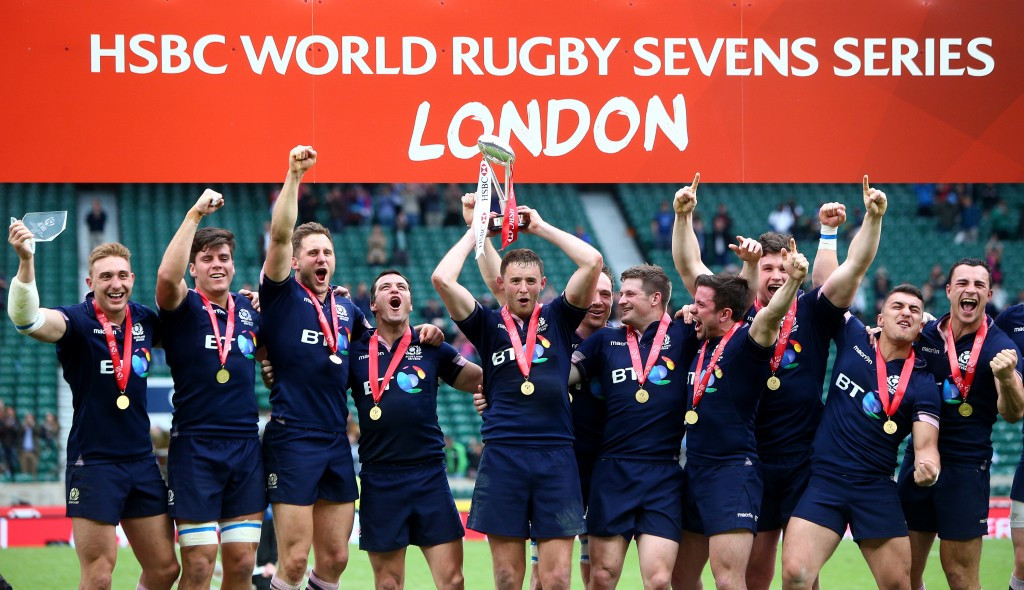 Scotland secure maiden World Rugby Sevens Series title with incredible comeback