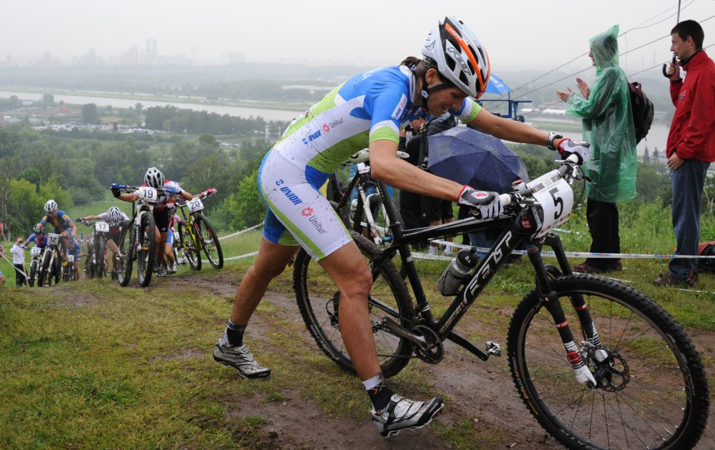 Slovenian mountain biker disqualified from London 2012 after failing drug test for EPO
