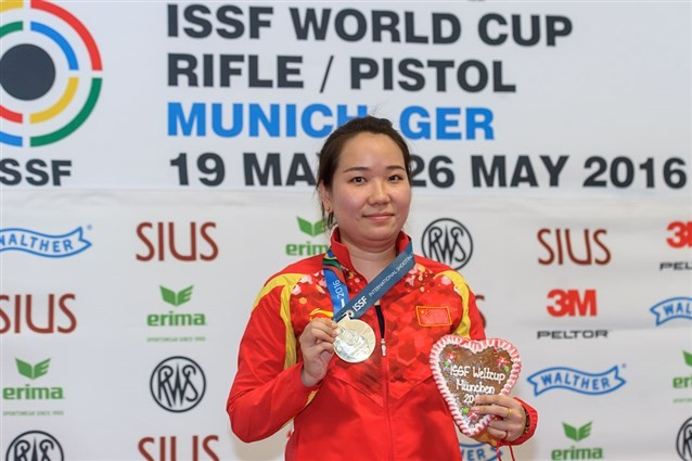 Zhang lays down a marker for Rio 2016 with dominant ISSF World Cup display