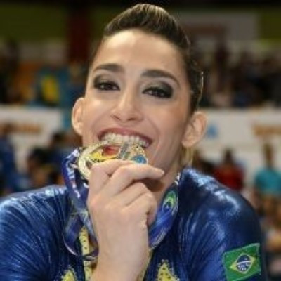 Hypólito wins two more golds on day of Brazilian domination at FIG World Challenge Cup