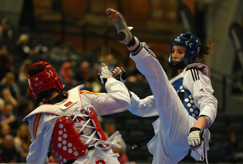 Thirty-five taekwondo events are available to bid for in all