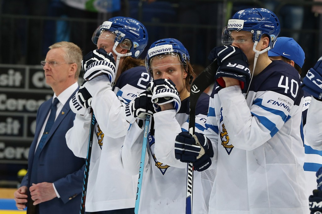 Finland climb in the rankings despite their final defeat to Canada ©Getty Images