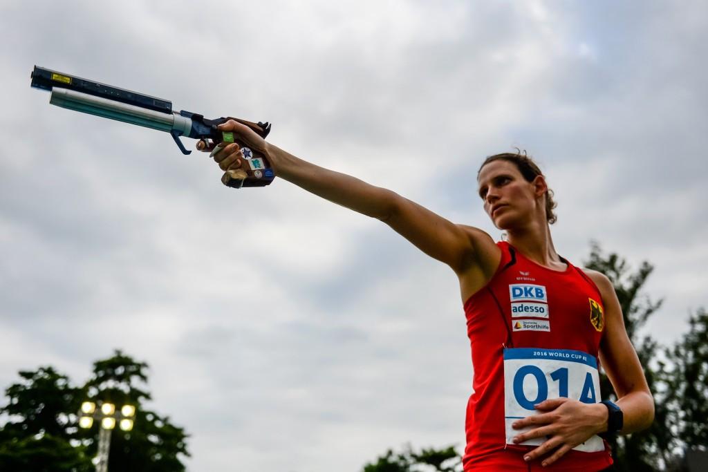Germany claim women's relay spoils on opening day of World Modern Pentathlon Championships