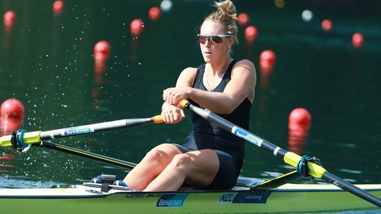 Twigg and Erichsen battle to semi-final victories at FISA Final Olympic Qualification Regatta