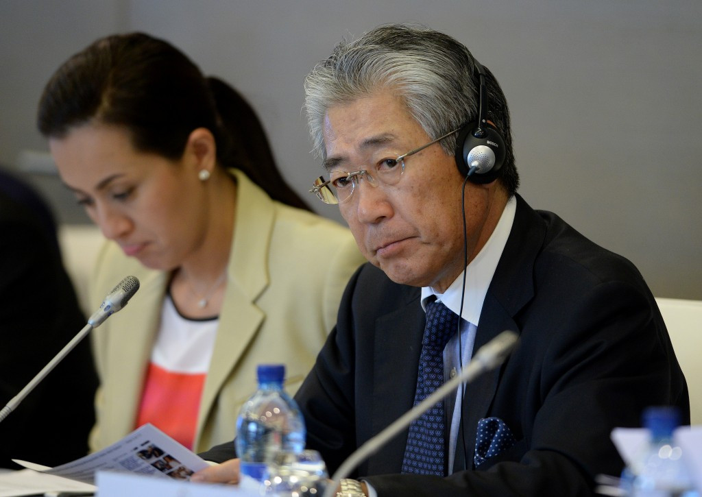 Tokyo 2020 bid leader and IOC member Tsunekazu Takeda claims the payment was necessary ©Getty Images