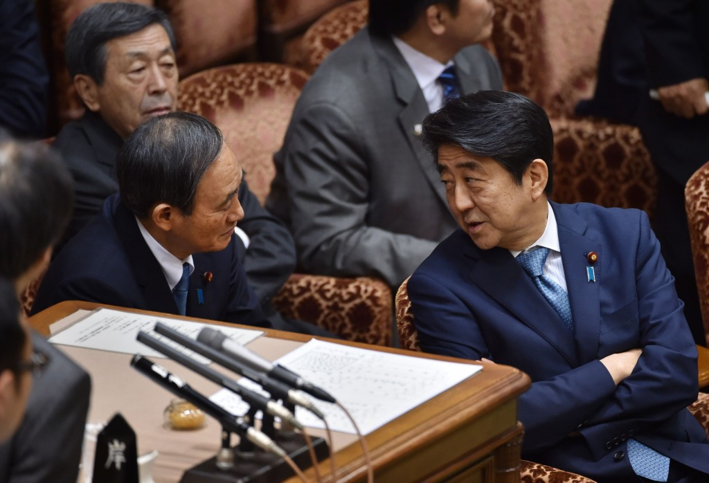 The issue has caused controversy in Japan, particularly for Prime Minister Shinzō Abe