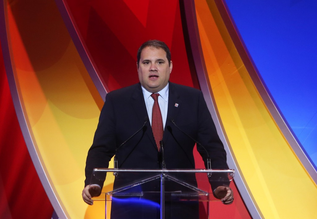 Canada's Victor Montagliani is to stand for the CONCACAF Presidency ©Getty Images