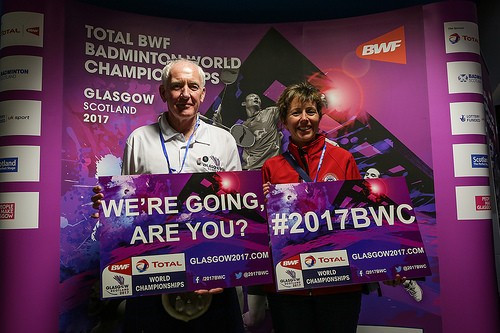 Pre-sale tickets launched for 2017 BWF World Championships in Glasgow