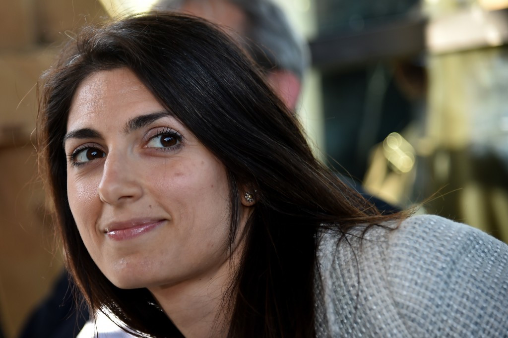 Virginia Raggi, the favourite to become Rome's first female Mayor in elections next month, is opposed to continuing the Olympic and Paralympic bid ©Getty Images