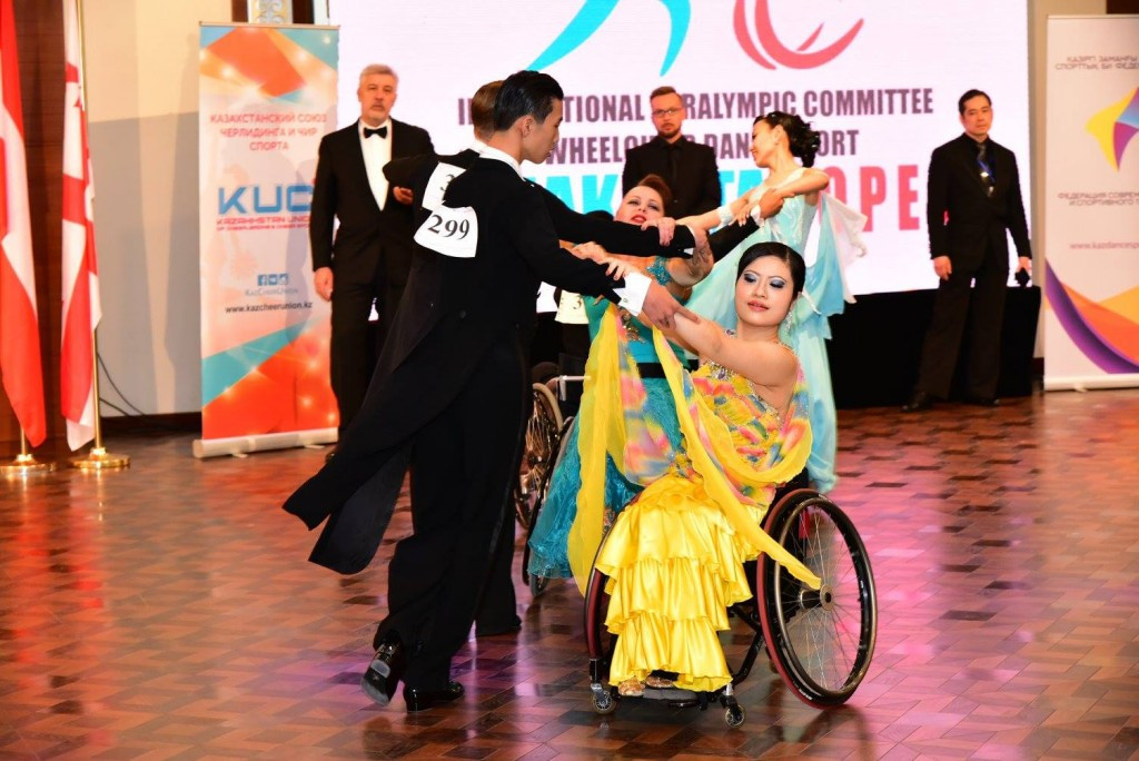 Lin aiming to make impact at home IPC Wheelchair Dance Sport Asian Championships