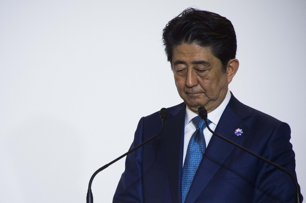 Japan's Prime Minister Shinzō Abe has today acknowledged that postponing the Tokyo 2020 Games has to be an option ©Getty Images