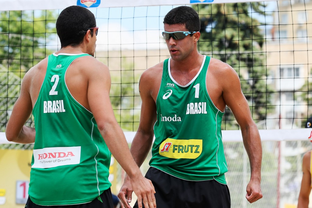 Spanish pair suffer defeat in opening match of FIVB Moscow Grand Slam title defence