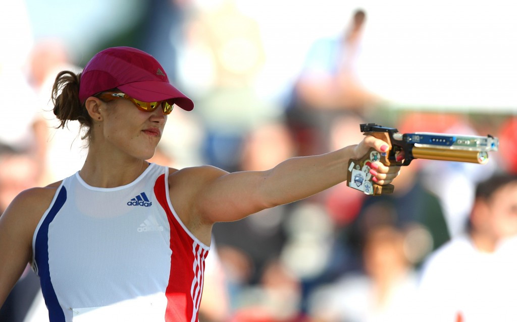 Clouvel leads women's qualification at World Modern Pentathlon Championships