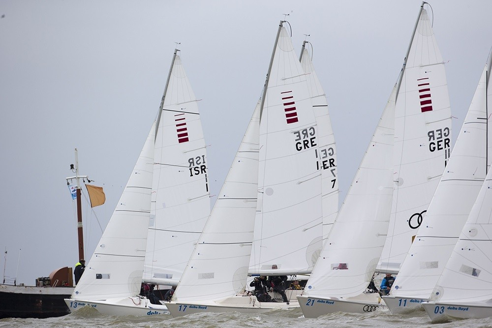 American trio take narrow sonar lead at Para World Sailing Championships