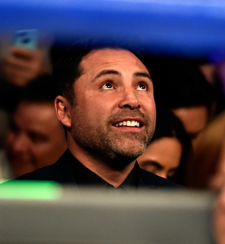 Olympic gold medallist and six-division world champion Oscar De La Hoya has criticised the controversial proposal