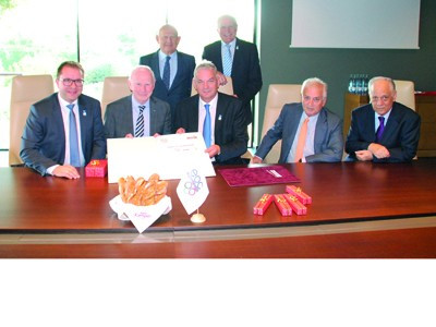 EOC signs sponsorship deal with Austrian baking company
