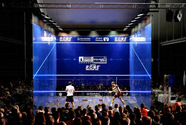 World's biggest squash court manufacturer marks 50th anniversary with publication of picture book