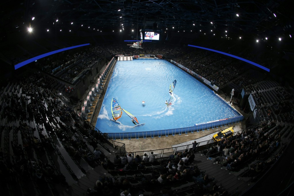 The company sponsor one of the city's main sporting venues, the AccorHotels Arena