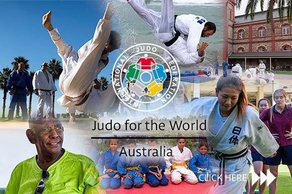 Educational tour throughout Australia focus of fifth IJF Judo for the World episode