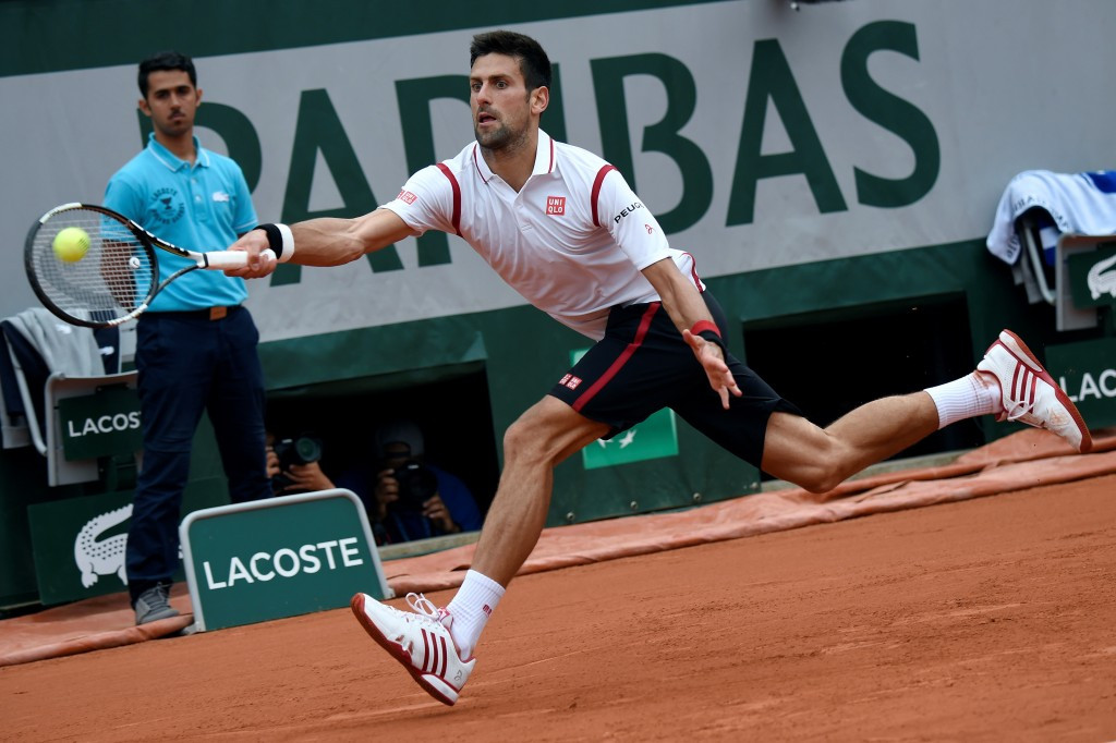 Novak Djokovic continued his pursuit of a first French Open title by beating Steve Darcis ©Getty Images
