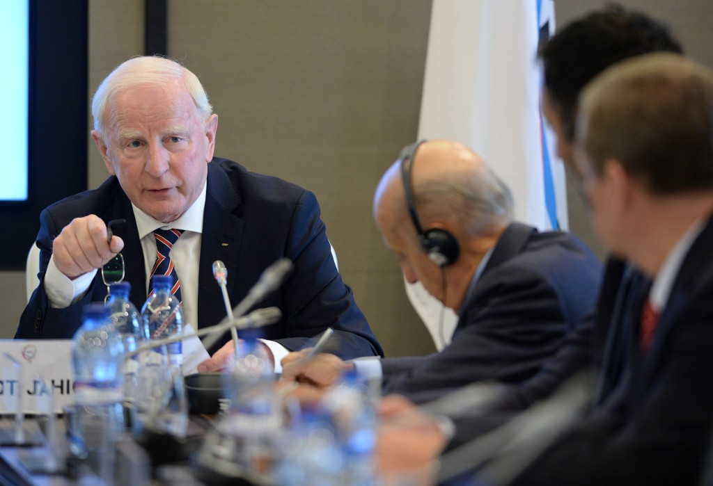Patrick Hickey remains fiercely critical of the alleged contract proposal ©Getty Images