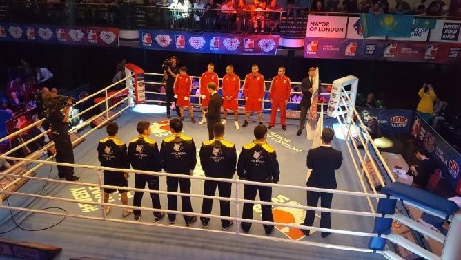 British Lionhearts edge Astana Arlans Kazakhstan on opening night of World Series of Boxing semi-final