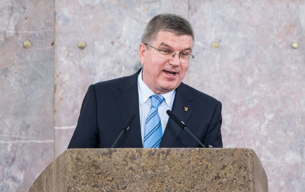 Thomas Bach said the results showed the IOC's determination in the fight against doping