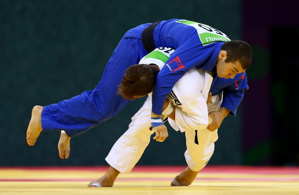 The 2015 European Judo Championships were held as part of the inaugural European Games in Baku