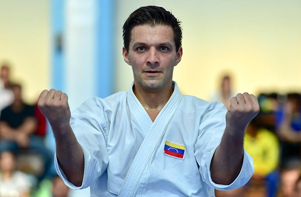 Nine in a row for Diaz on opening day of Pan American Karate Championships