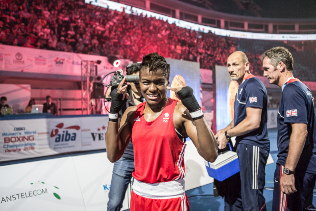 British flyweight Nicola Adams claimed her maiden world title today ©AIBA