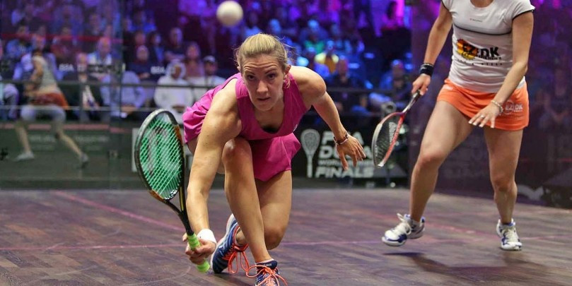 Laura Massaro reached the women's final in Dubai