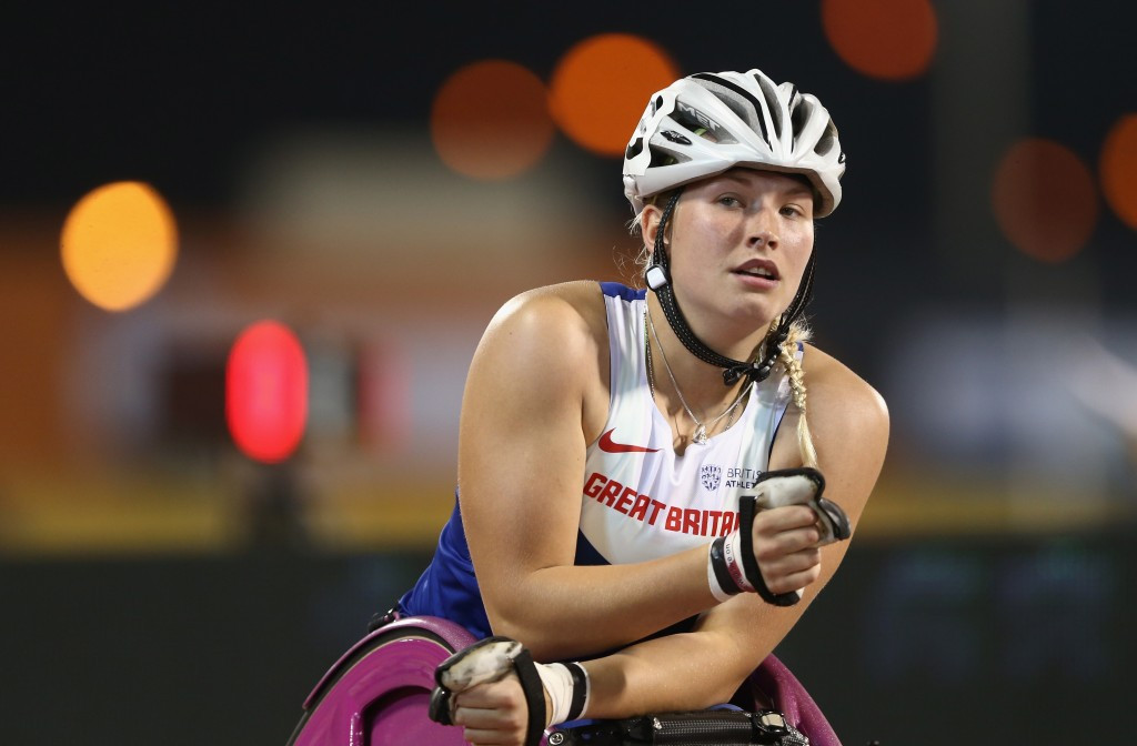 Kinghorn lowers Tanni Grey-Thompson's 200m European record at IPC Athletics Grand Prix in Nottwil