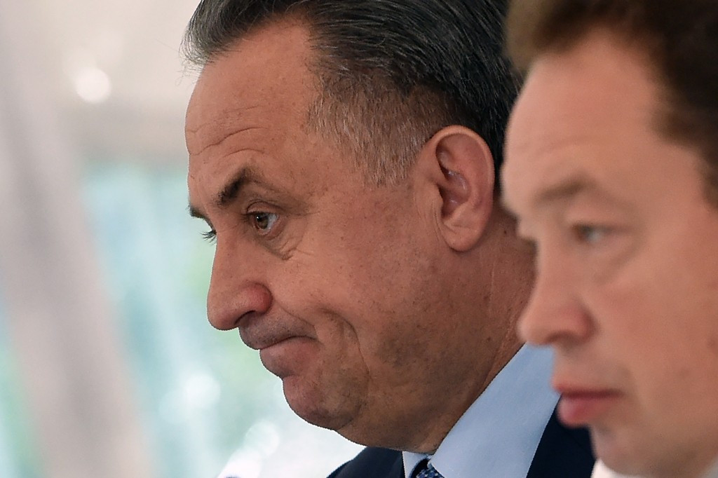 Russian Sports Minister Vitaly Mutko said he was concerned about what happened