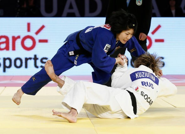 World champion Nakamura powers to gold at IJF World Judo Masters