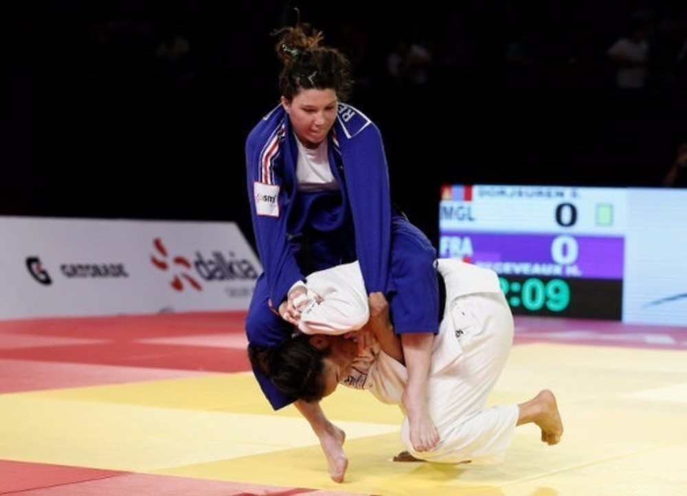 Sumiya Dorjsuren defended her World Judo Masters title in Guadalajara