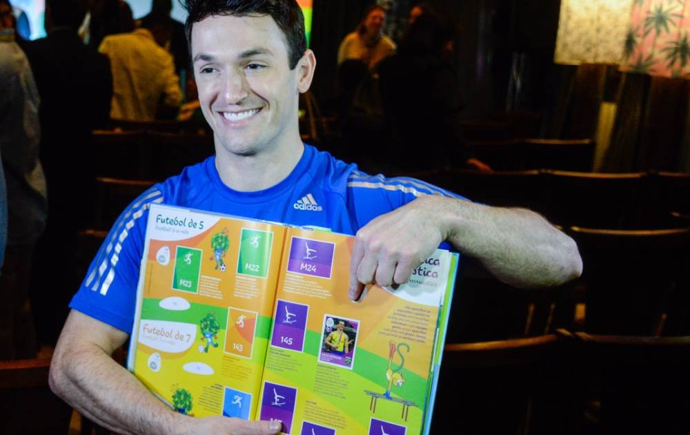 Rio 2016 launch official Olympic and Paralympic sticker book to boost interest in Games