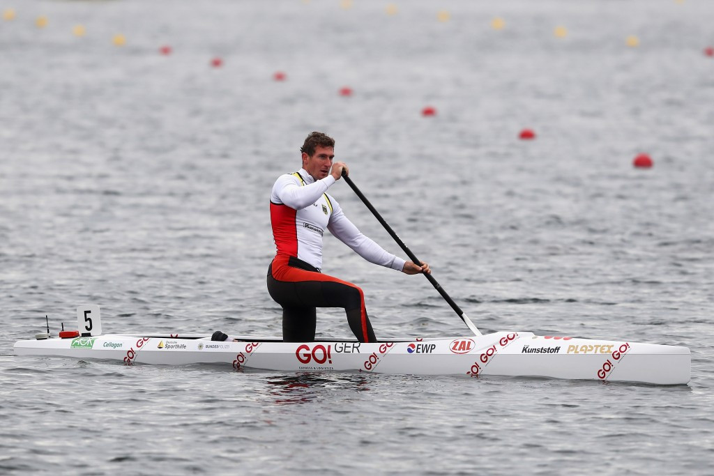 Sebastian Brendel continued his superb form with another World Cup victory ©ICF