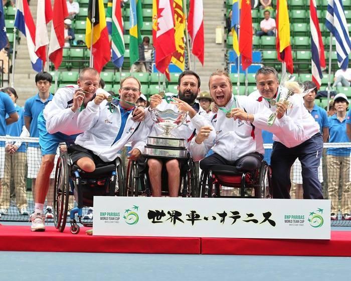 France secure men's title as BNP Paribas World Team Cup concludes
