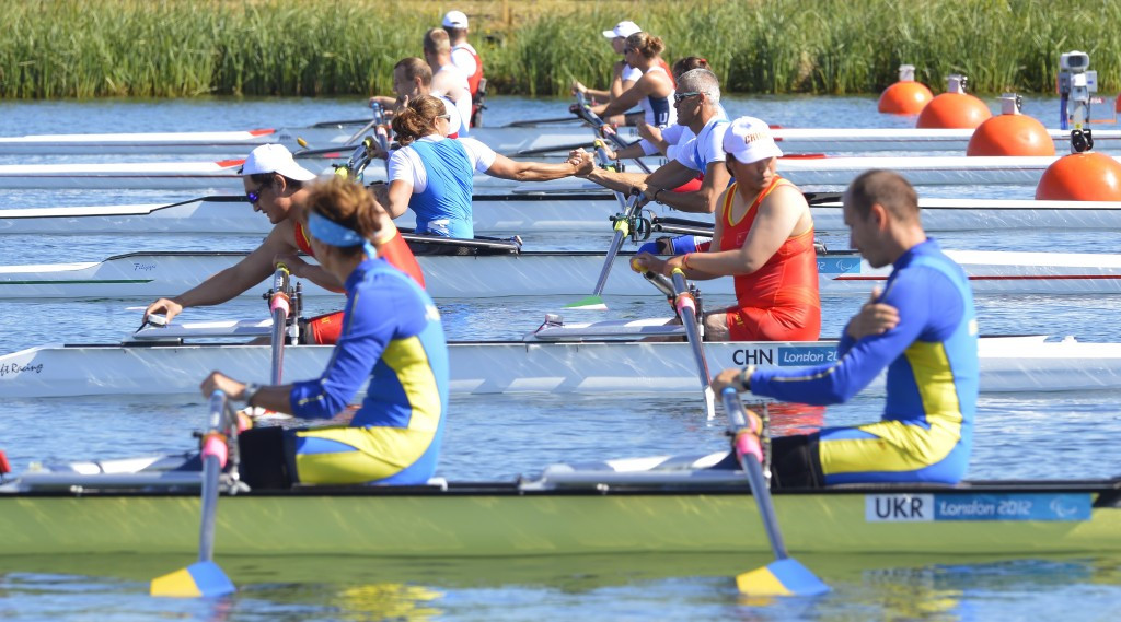 Eight bipartite rowing berths awarded for Rio 2016 Paralympics