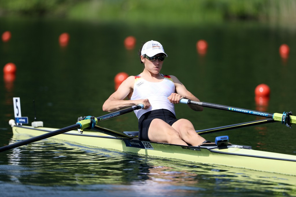 Noske earns women's lightweight single sculls title at Lucerne World Rowing Cup