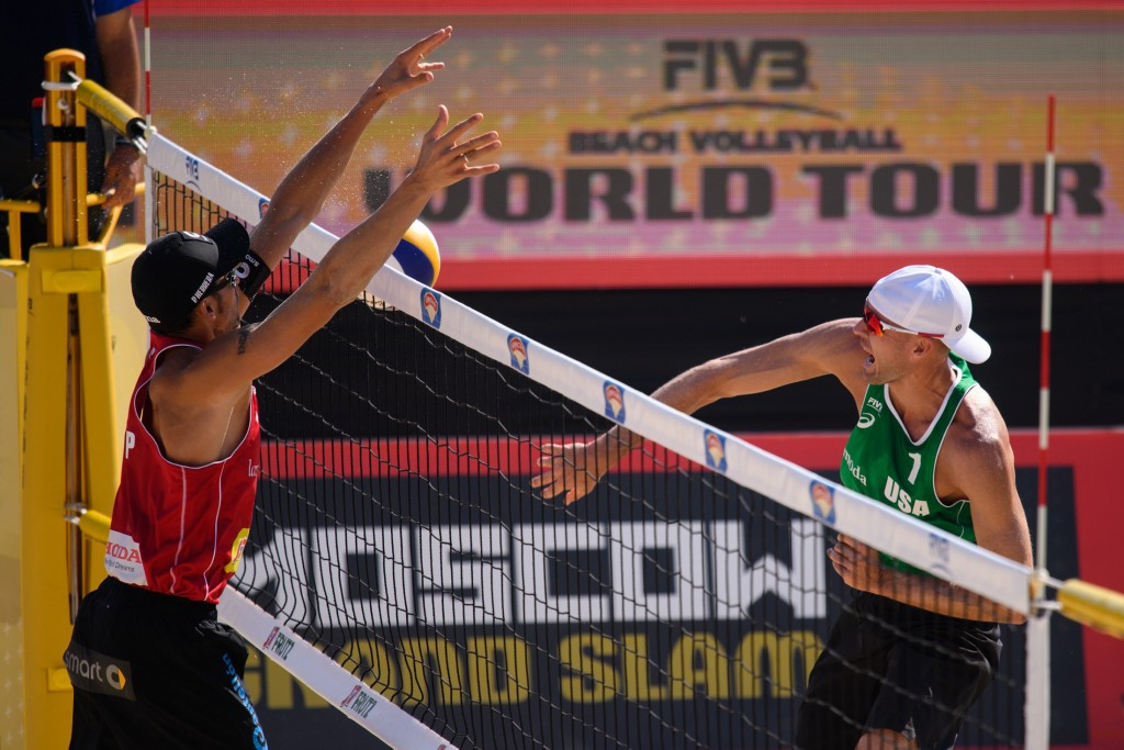 Gibb and Patterson knock out defending champions with comeback win at FIVB Moscow Grand Slam