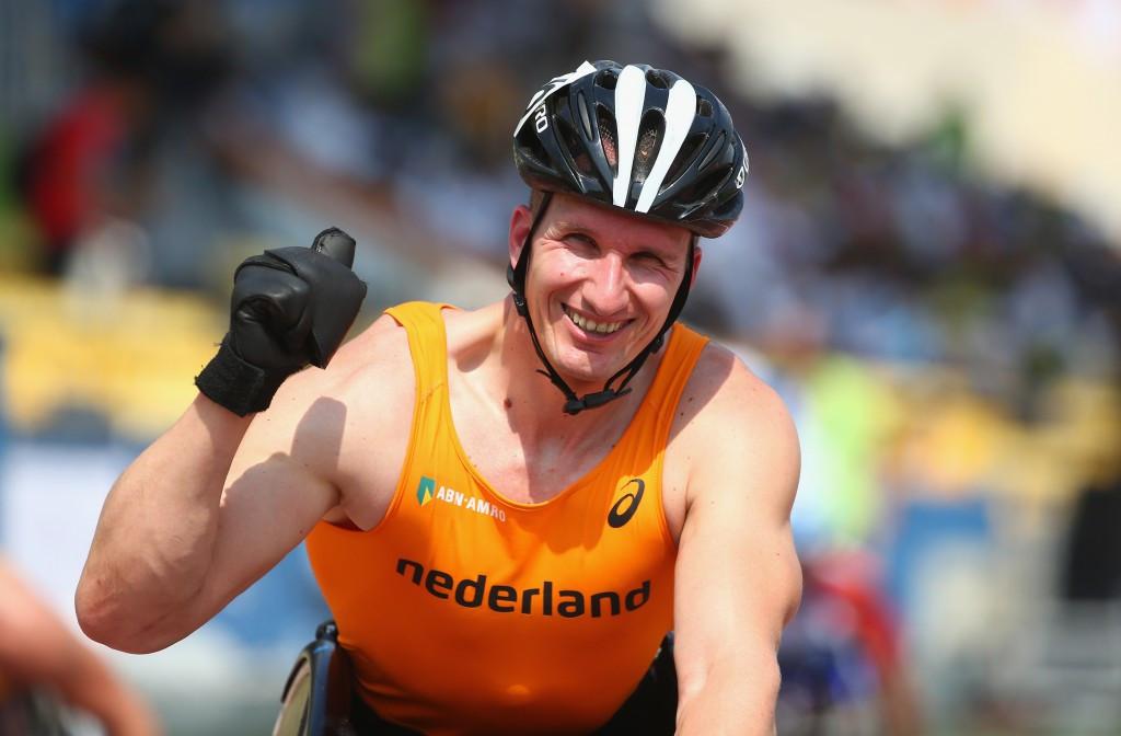 Van Weeghel denies home hero Hug gold at IPC Athletics Grand Prix in Nottwil