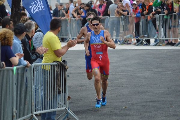 Gómez lays down ominous pre-Olympic marker by easing to European Triathlon Championship title