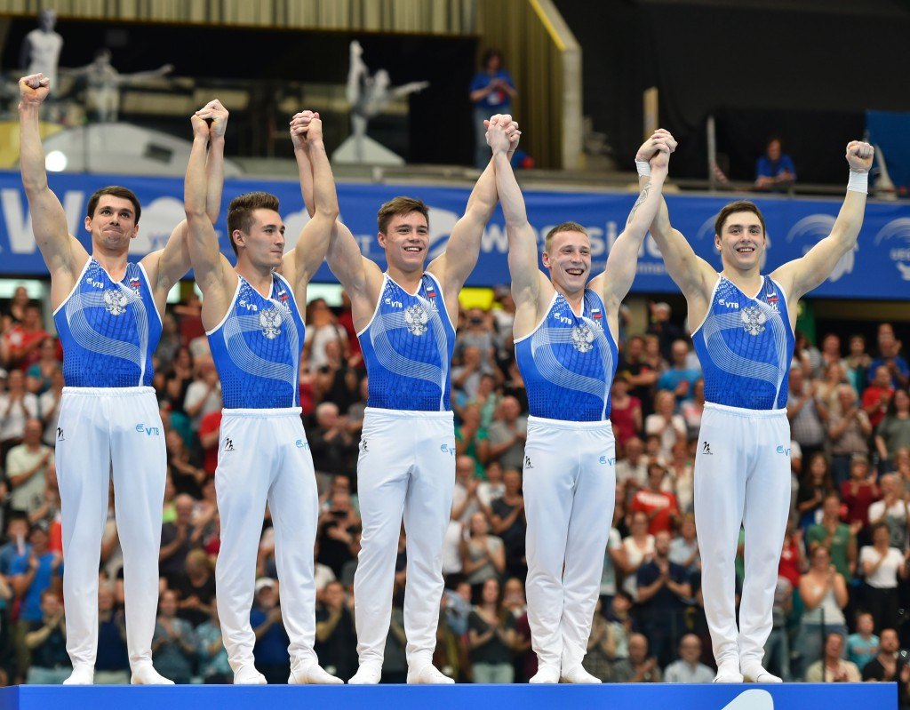 Russia defend team title with dominant display at European Artistic Gymnastics Championships