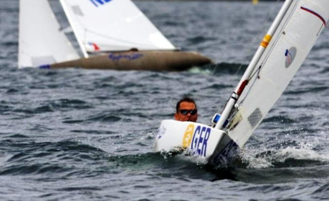 Heiko Kroger claimed his eighth Para-sailing 2.4 world title ©World Sailing