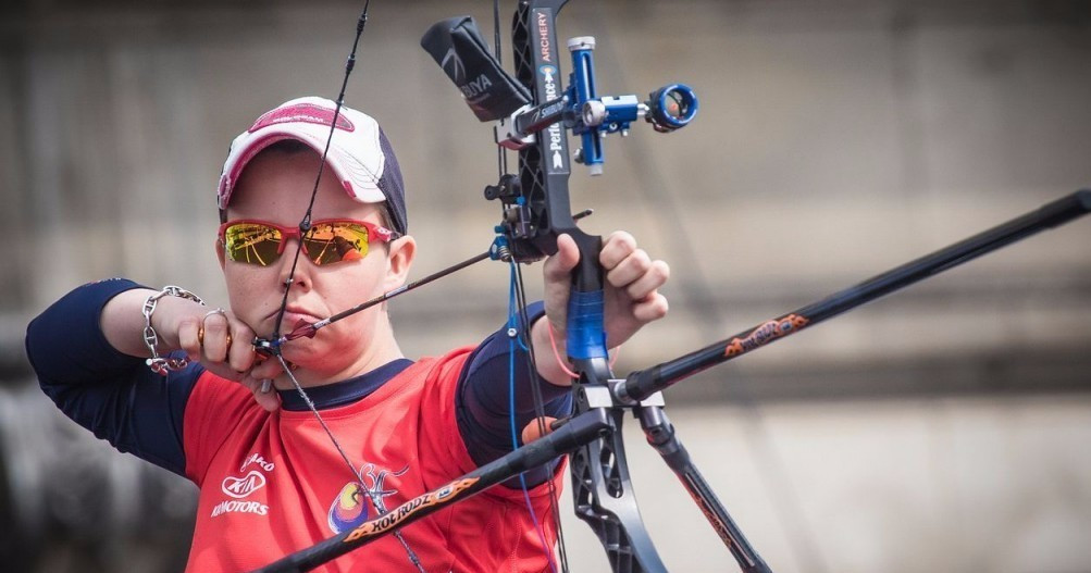 Prieels and Hansen claim compound titles at European Archery Championships
