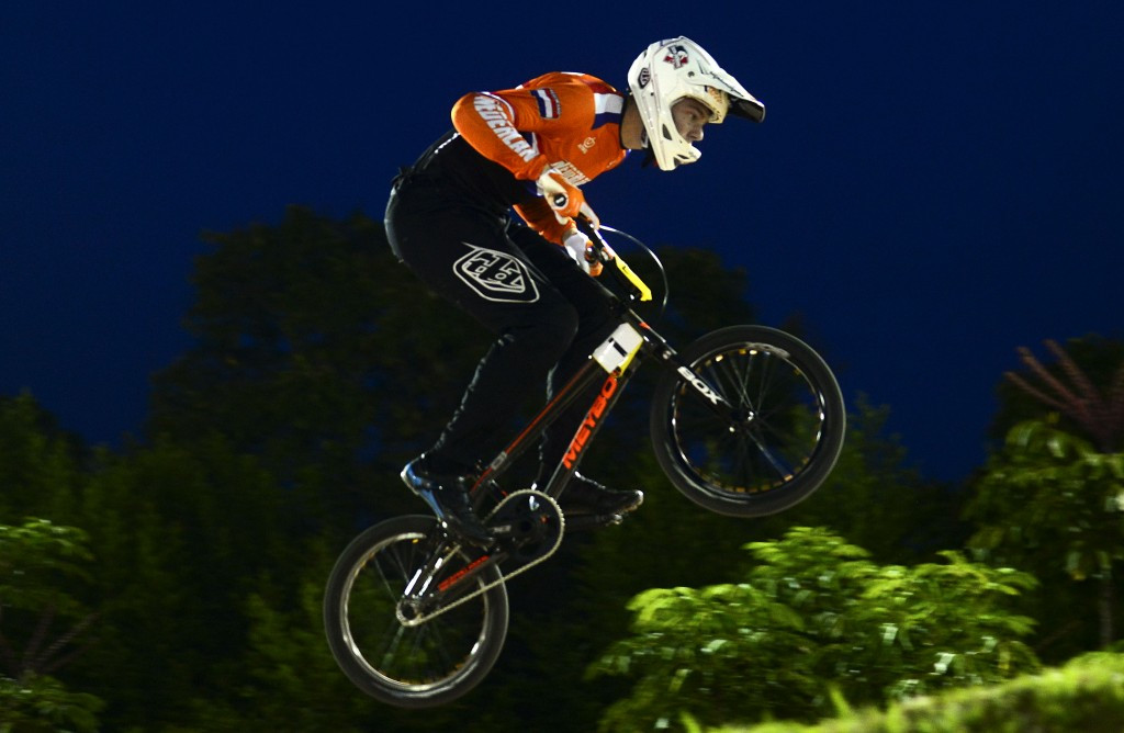 Buchanan and Kimmann earn elite time trial titles at UCI BMX World Championships